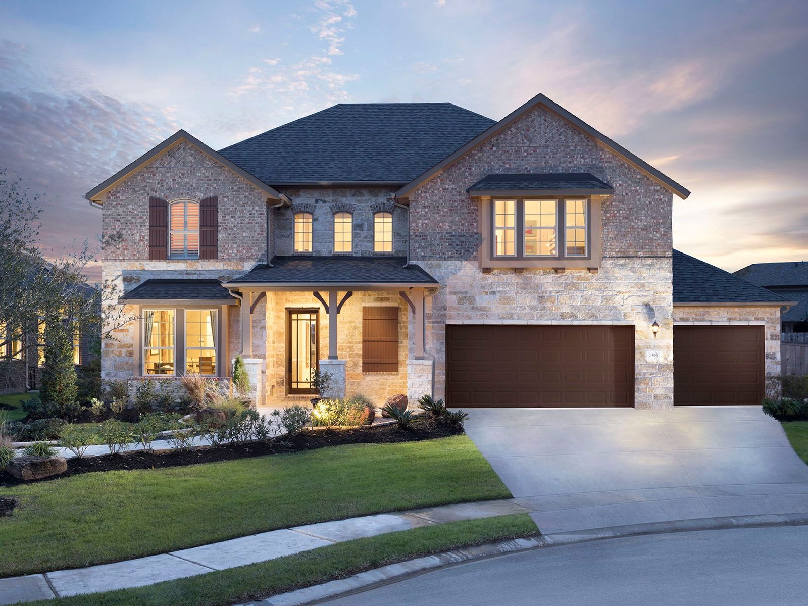 Single Family for Sale at The Yorkshire (5004) 2227 Briarstone Bluff Crossing Pearland, Texas 77089 United States