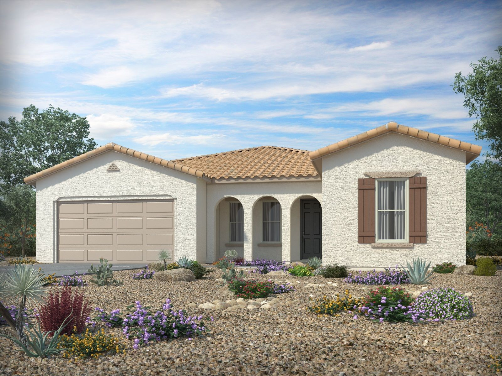 Single Family for Sale at Mission Royale - Platinum Series - Redding 2611 E. Questa Trail Casa Grande, Arizona 85194 United States