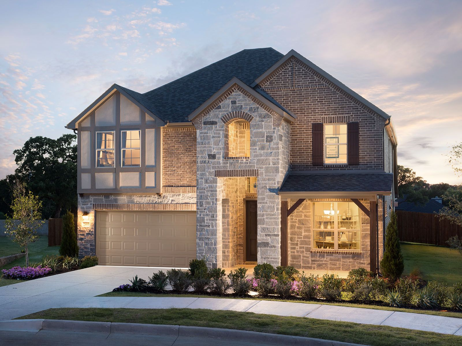 Terrace Oaks - Reserve Series new homes in Corinth TX by