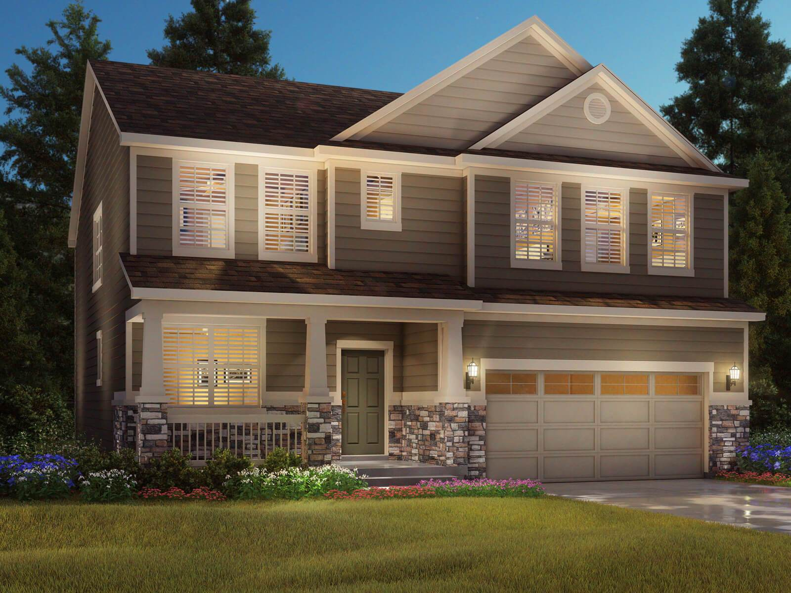 Single Family for Sale at Creekside: The Canyon Collection - The Waterton Coming Soon Erie, Colorado 80516 United States