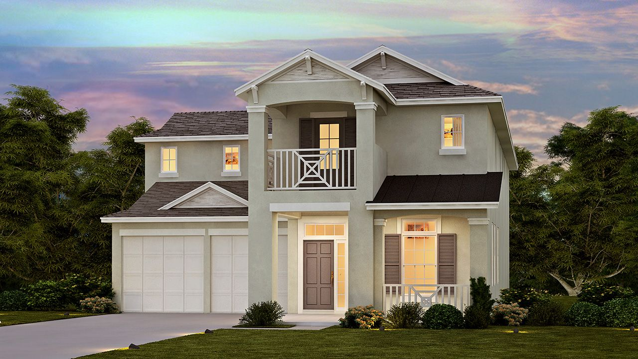 Meritage Homes Watermark Thoreau Model 1143884 Winter