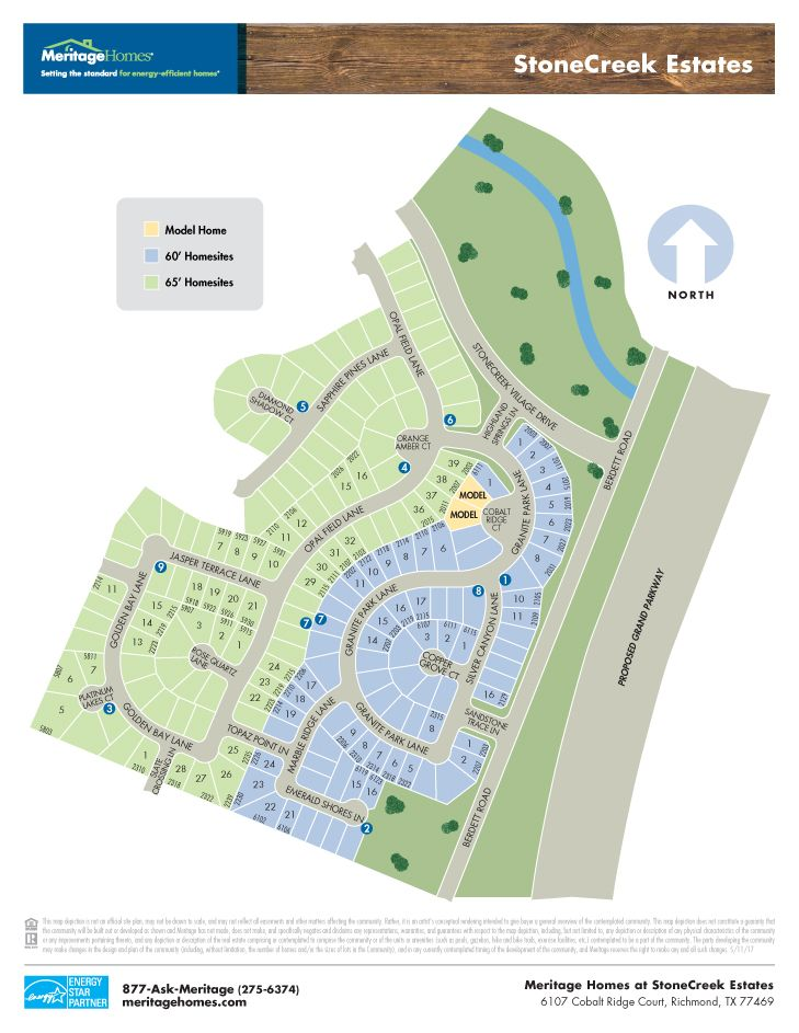 Stonecreek Estates 65s New Homes In Rosenberg Tx By Meritage Homes