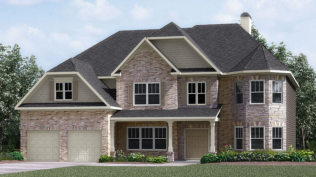 Meritage homes redcroft estates cameron 1190101 greer for Home builders greer sc