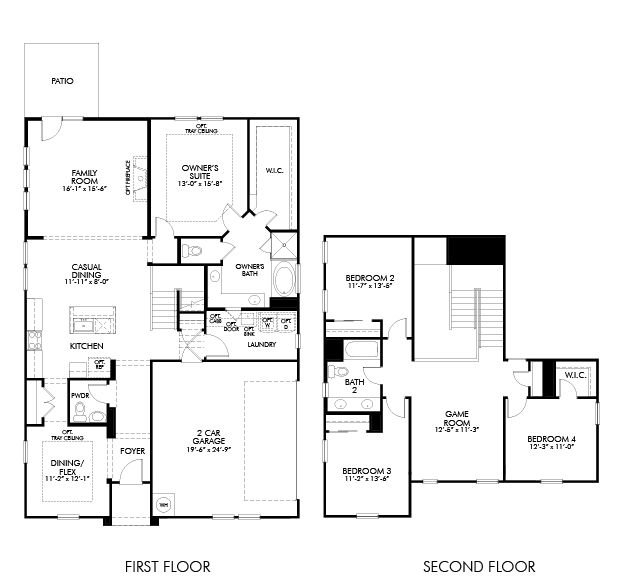 Meritage Homes Churchill Farms The Cottage Collection