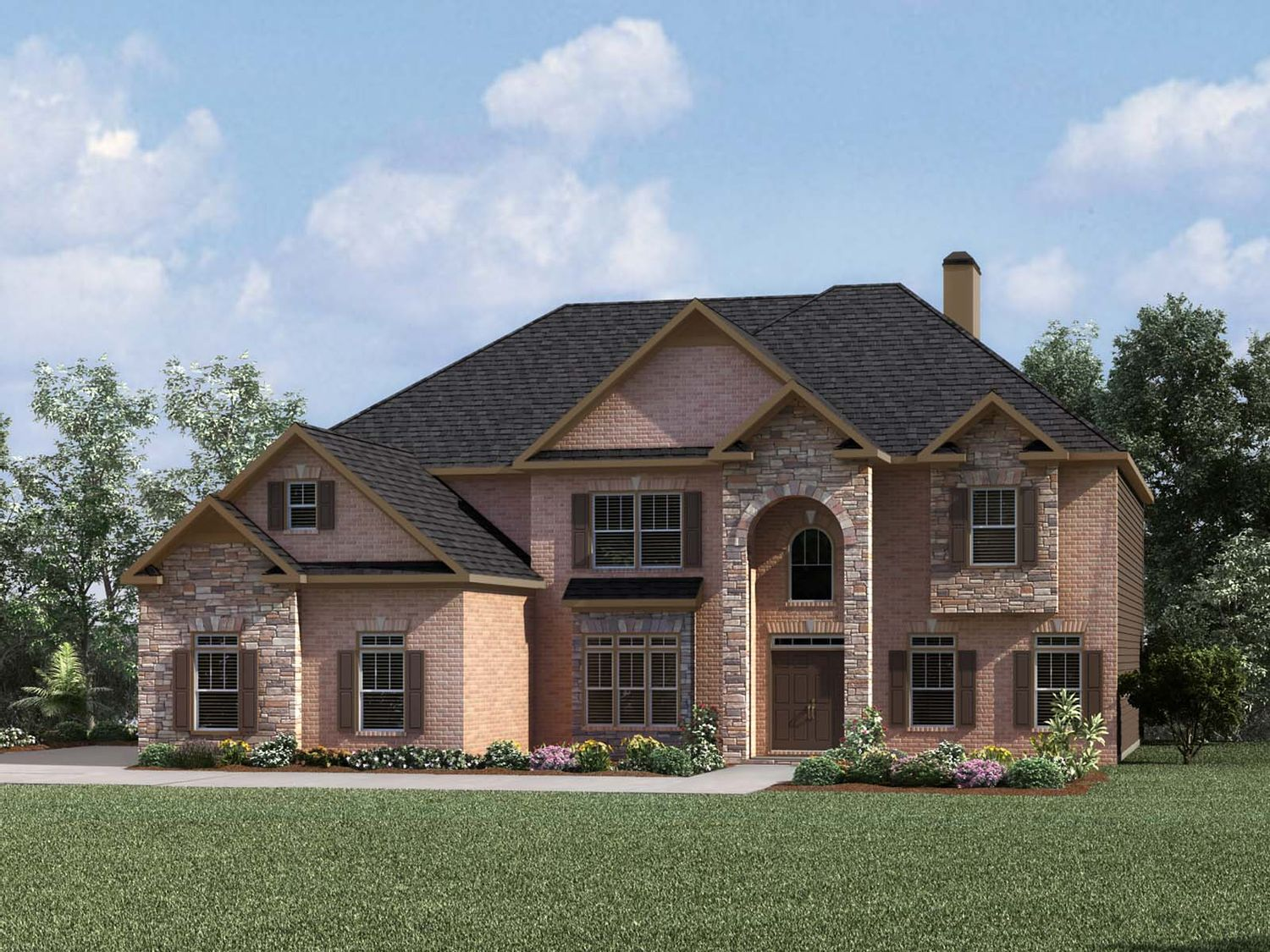 Single Family for Sale at Hillside At Riverstone Plantation - Chatsworth 8210 Post Oak Lane Gainesville, Georgia 30506 United States