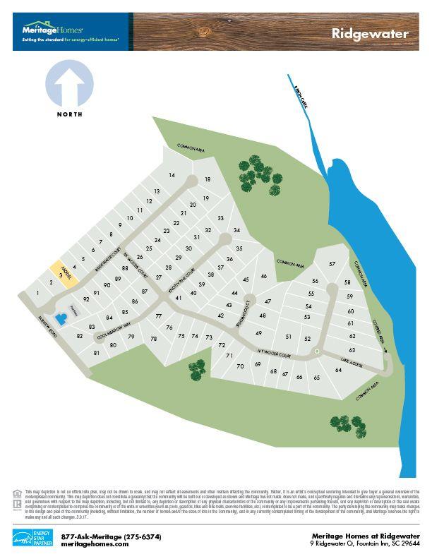 Single Family for Sale at Roxbury 105 Ridgewater Ct Fountain Inn, South Carolina 29644 United States