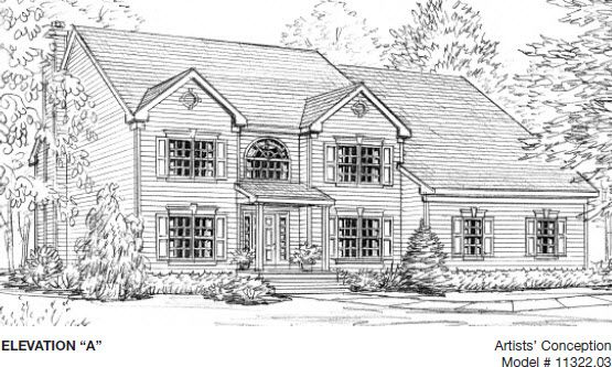 Single Family for Sale at The Reserve At New Windsor - Huntley 2080 Independence Drive New Windsor, New York 12553 United States
