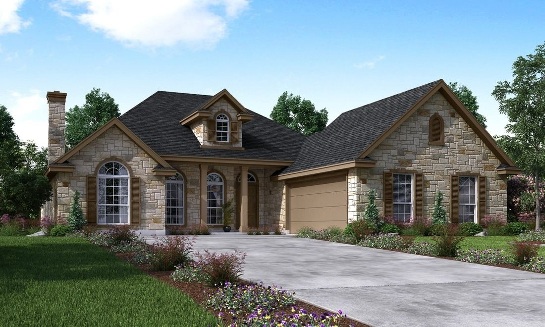 Single Family for Sale at The Augusta 806 Savannah Cove Elgin, Texas 78621 United States