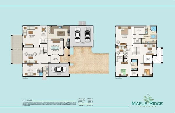 Elsinore Floor Plan