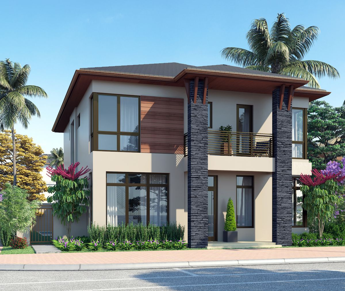 Single Family for Sale at Canarias At Downtown Doral - Model A - Two-Story 8333 Nw 53rd Street Suite #102 Miami, Florida 33166 United States