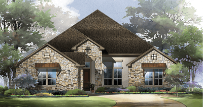 Single Family for Sale at La Creciente At Johnson Ranch - 70-3010h.1 3816 Fox Trot Trail Bulverde, Texas 78163 United States