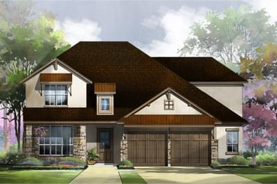 Single Family for Sale at Deerbrooke - 65-3221f.1 - Norfolk 2401 Fallshire Ct Leander, Texas 78641 United States