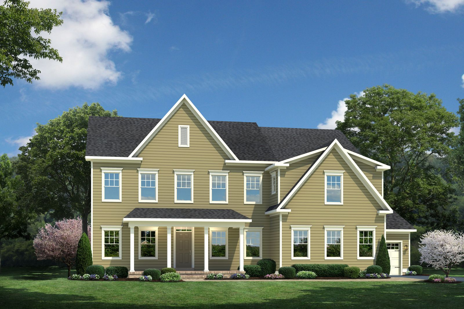Single Family for Active at Potomac Shores Estates - Corsica At Potomac Shores 2175 Potomac River Blvd. Dumfries, Virginia 22026 United States
