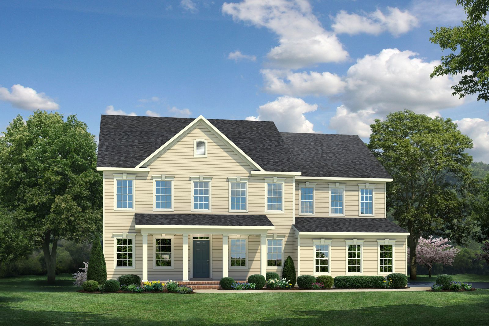 Single Family for Active at Potomac Shores Estates - Normandy At Potomac Shores 2175 Potomac River Blvd. Dumfries, Virginia 22026 United States
