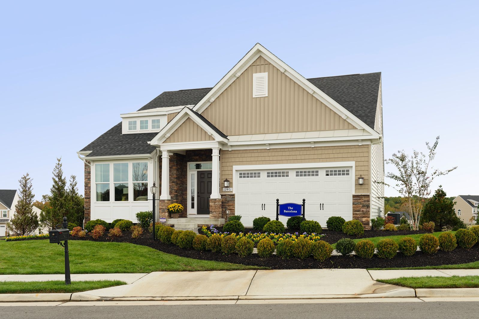 Single Family for Sale at May's Quarter - Barcelona - Main Level Living 12420 May's Quarter Road Lake Ridge, Virginia 22192 United States