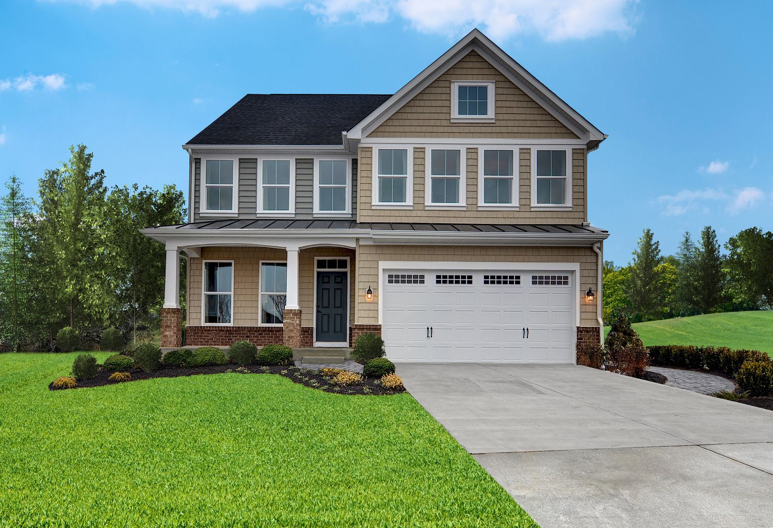 Single Family for Sale at May's Quarter - Hayworth 12420 May's Quarter Road Lake Ridge, Virginia 22192 United States