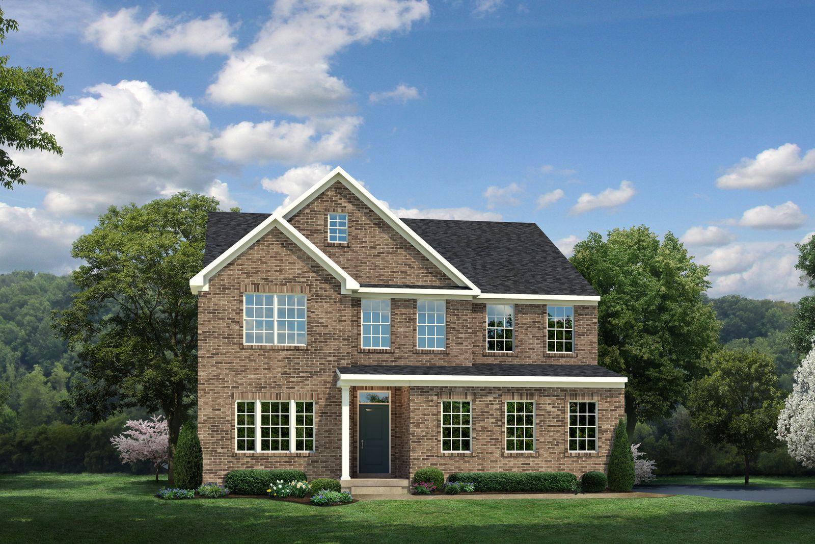 Single Family for Active at Parx Estates - York 12109 Aden Rd Nokesville, Virginia 20181 United States