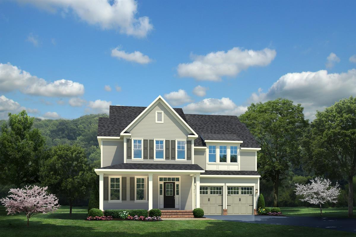 Single Family for Active at Potomac Shores Single-Family Homes - Berkeley 2304 Sweet Pepperbrush Loop Dumfries, Virginia 22026 United States