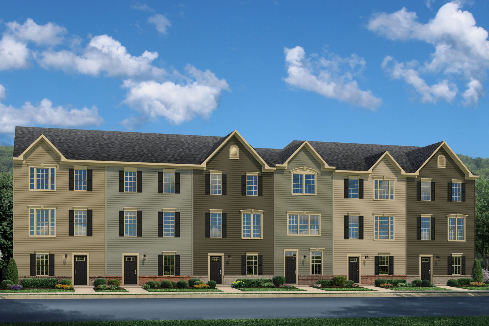 Multi Family for Active at Heritage Village - Neuman 7885 Heritage Dr. Annandale, Virginia 22003 United States
