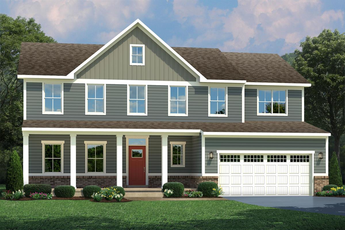 Single Family for Active at Carriage Ford - Saint Lawrence 11301 Colvin Lane Nokesville, Virginia 20181 United States