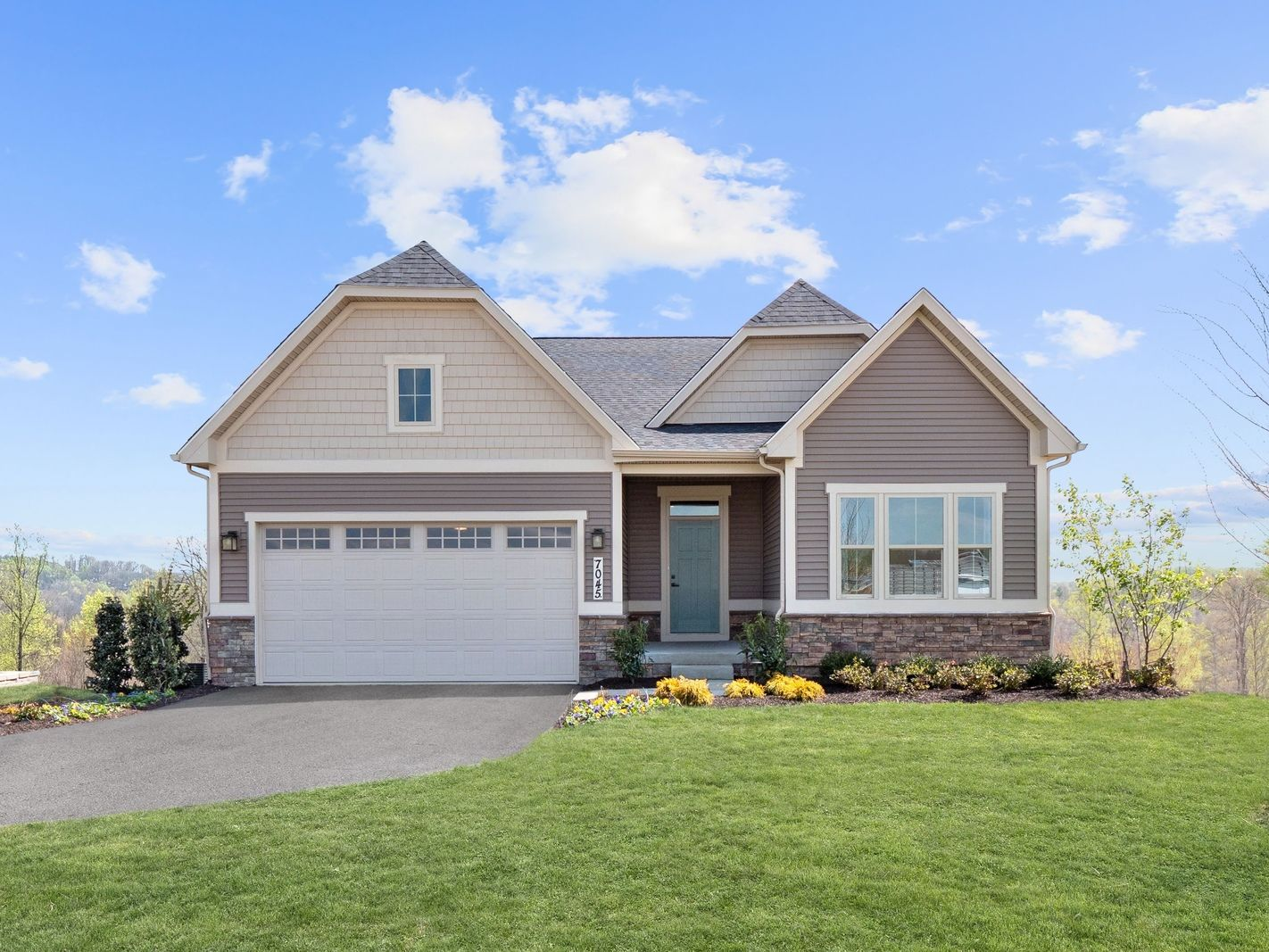 Unifamiliar por un Venta en Lake Linganore Hamptons Single Family Homes - Bramante Ranch 7047 Eaglehead Drive New Market, Maryland 21774 United States