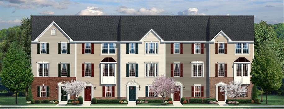 Multi Family for Sale at Washington Square Townhomes In Ojr School District - Strauss 701 Bridge Street Spring City, Pennsylvania 19475 United States