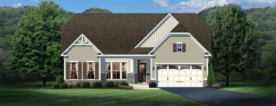 Single Family for Sale at Fork Landing - Carolina Place 19570 Drummond Drive Milford, Delaware 19963 United States