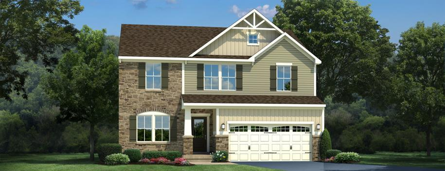 Single Family for Sale at The Arbors At New Kent - Milan 7755 Arbor Ponds Terrace New Kent, Virginia 23124 United States