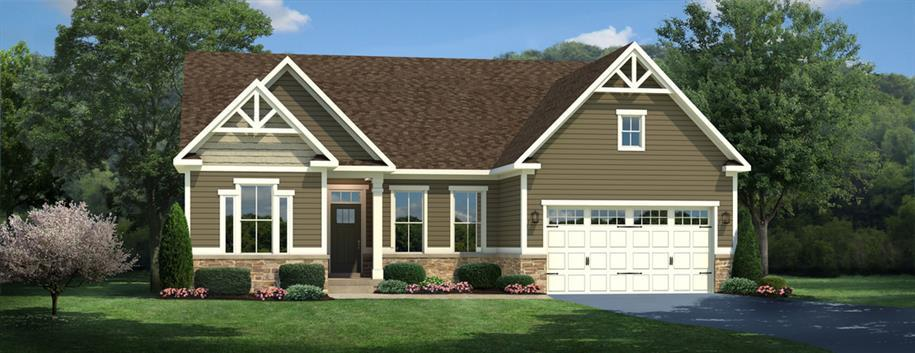 Single Family for Sale at Spring Breeze - Springhaven 30313 Holly Mount Road Harbeson, Delaware 19951 United States