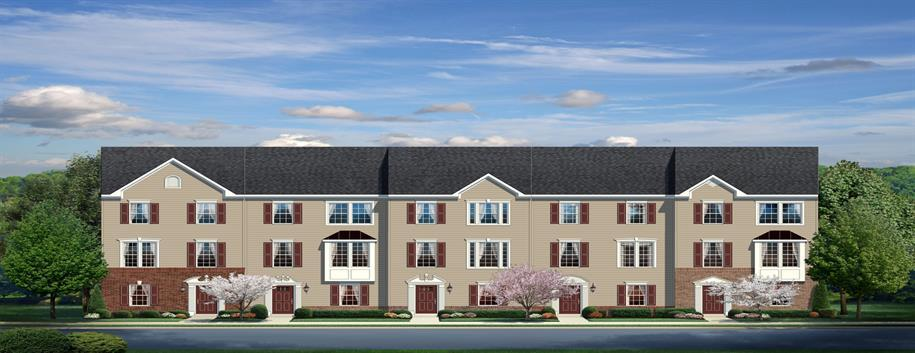 Multi Family for Sale at Washington Square Townhomes In Ojr School District - Beethoven Front Entry 701 Bridge Street Spring City, Pennsylvania 19475 United States
