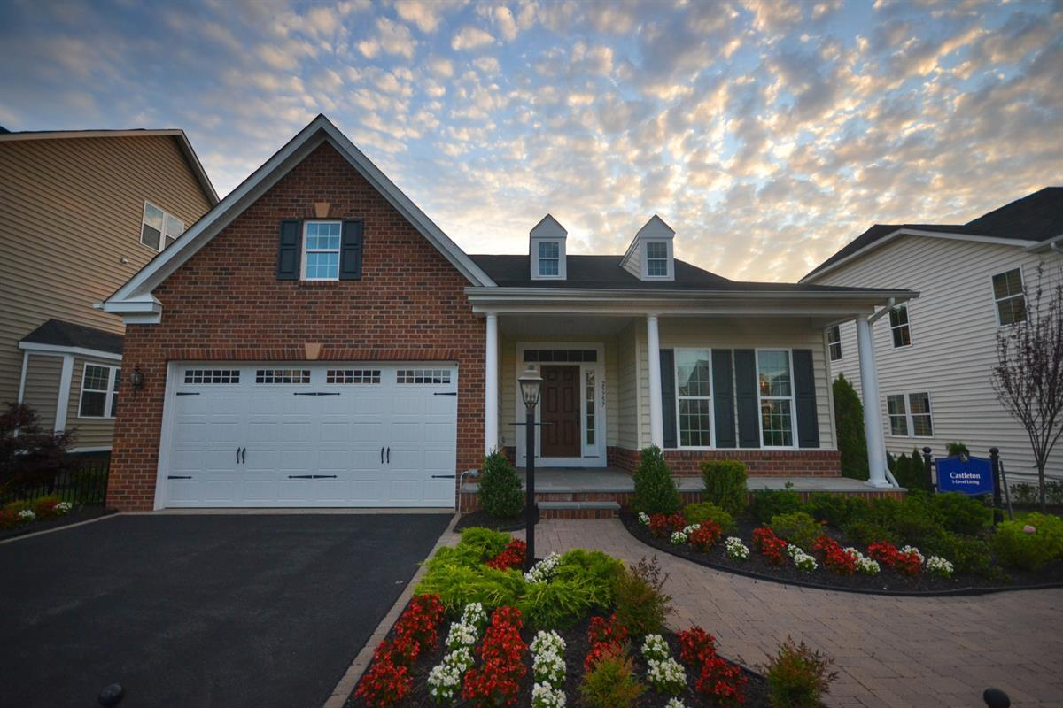 Carriage trails the reserves ranch homes new homes in for Ranch home builders ohio