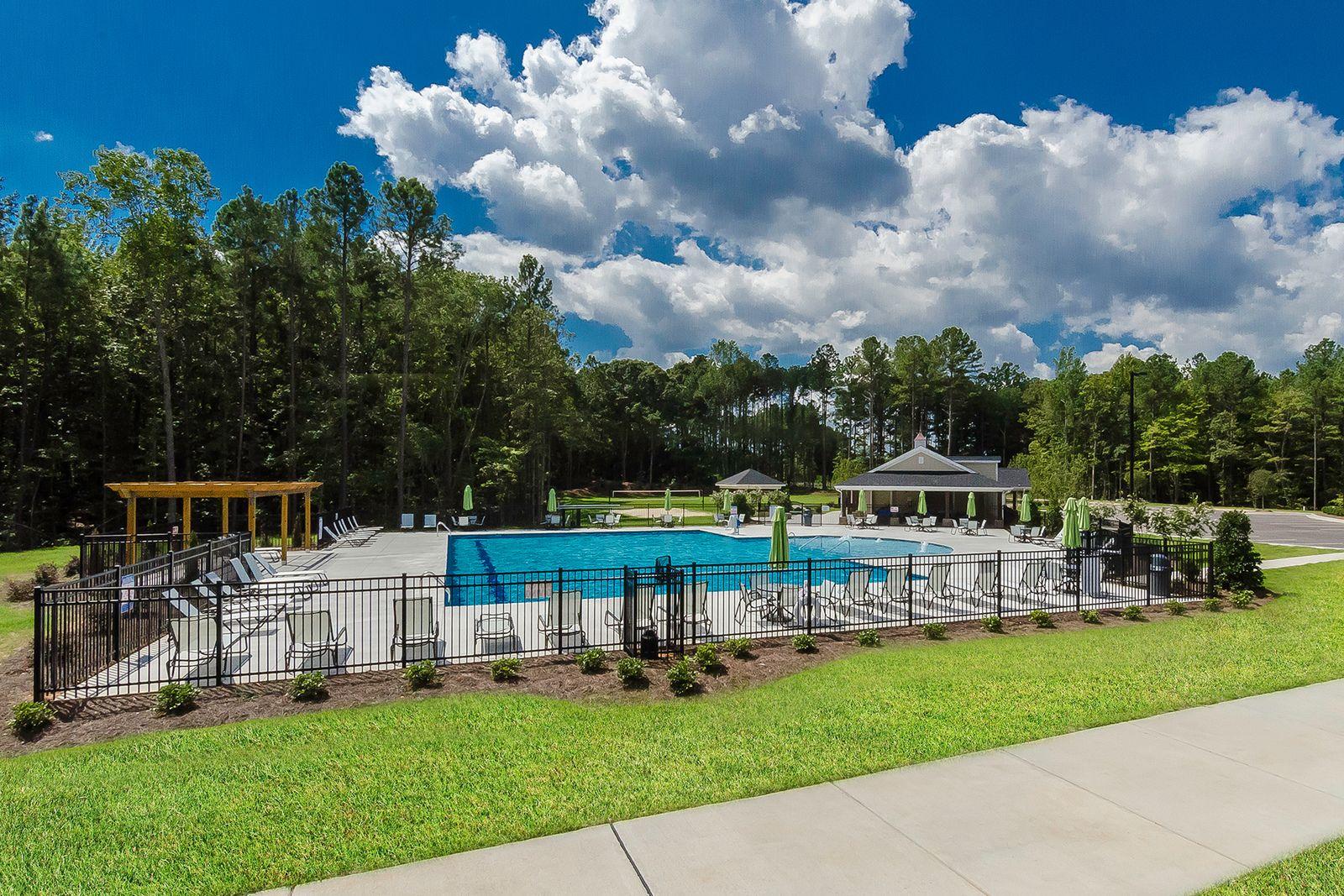 Single Family for Active at Avalon Isle 2763 Jordan Pointe Blvd New Hill, North Carolina 27562 United States