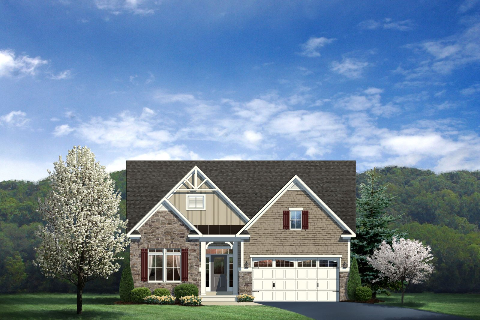 Single Family for Sale at Spring Breeze - Daventry 30211 Lone Palm Way Harbeson, Delaware 19951 United States