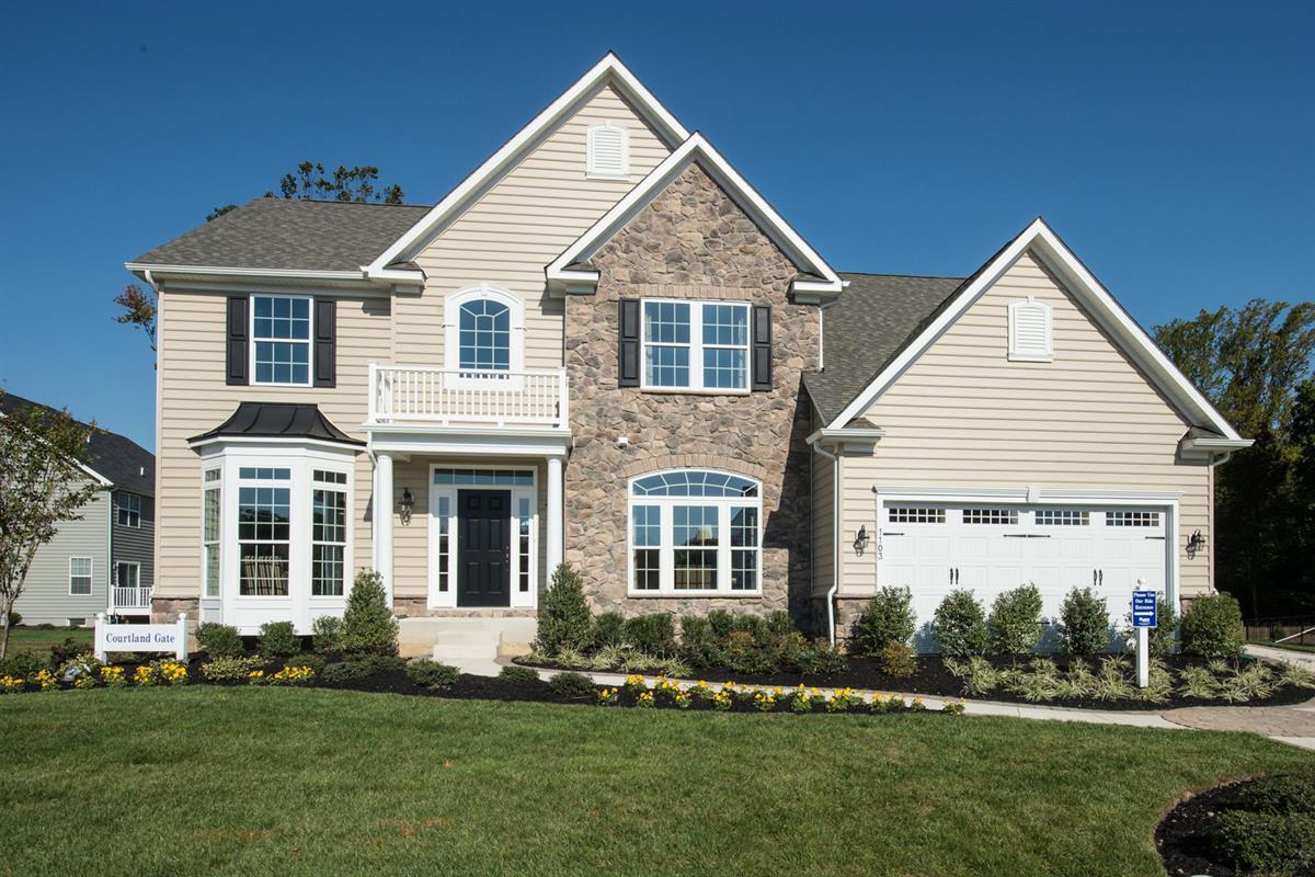 单亲家庭 为 销售 在 Cannon Hill - Courtland Gate 50 New Canton Way Upper Freehold, New Jersey 08501 United States