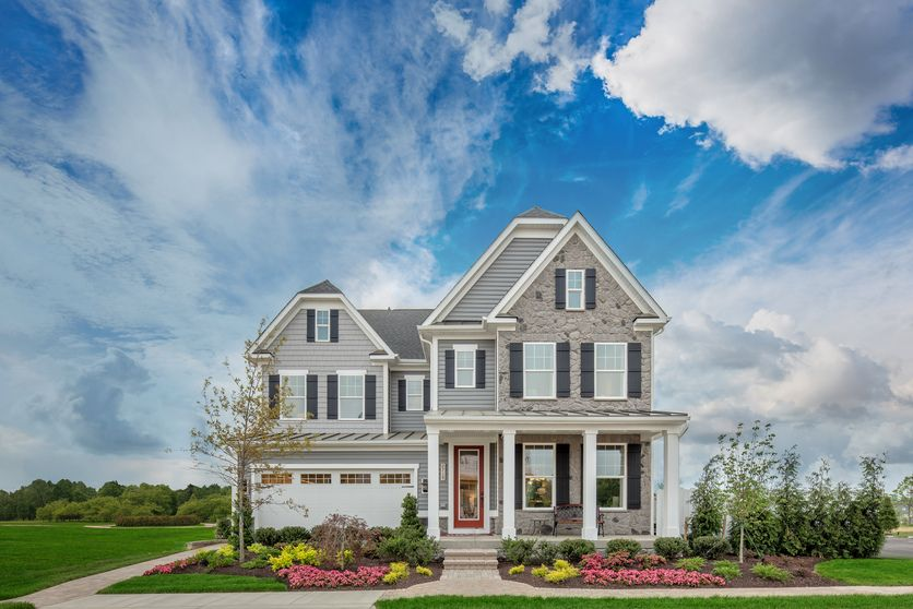 Single Family for Active at Two Rivers All Ages Single-Family Homes - Tyler 2719 Orchard Oriole Way Odenton, Maryland 21113 United States