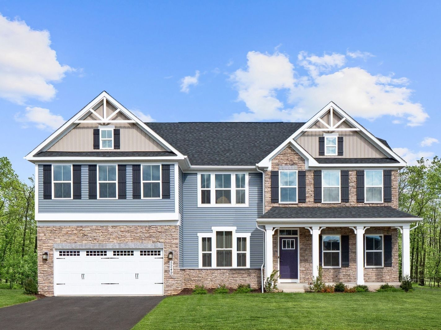 Single Family for Active at Crossland At The Canal - Corsica 249 Mistmeadow Drive Bear, Delaware 19701 United States