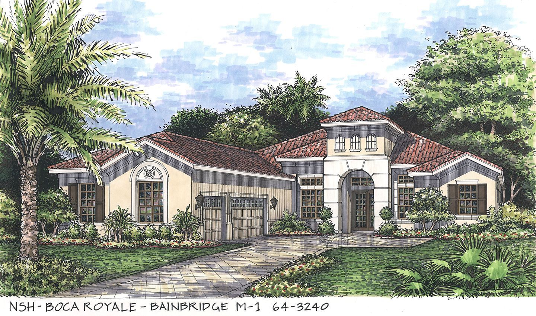 单亲家庭 为 销售 在 Boca Royale Golf & Country Club - Bainbridge 1 Golf View Drive Englewood, Florida 34223 United States