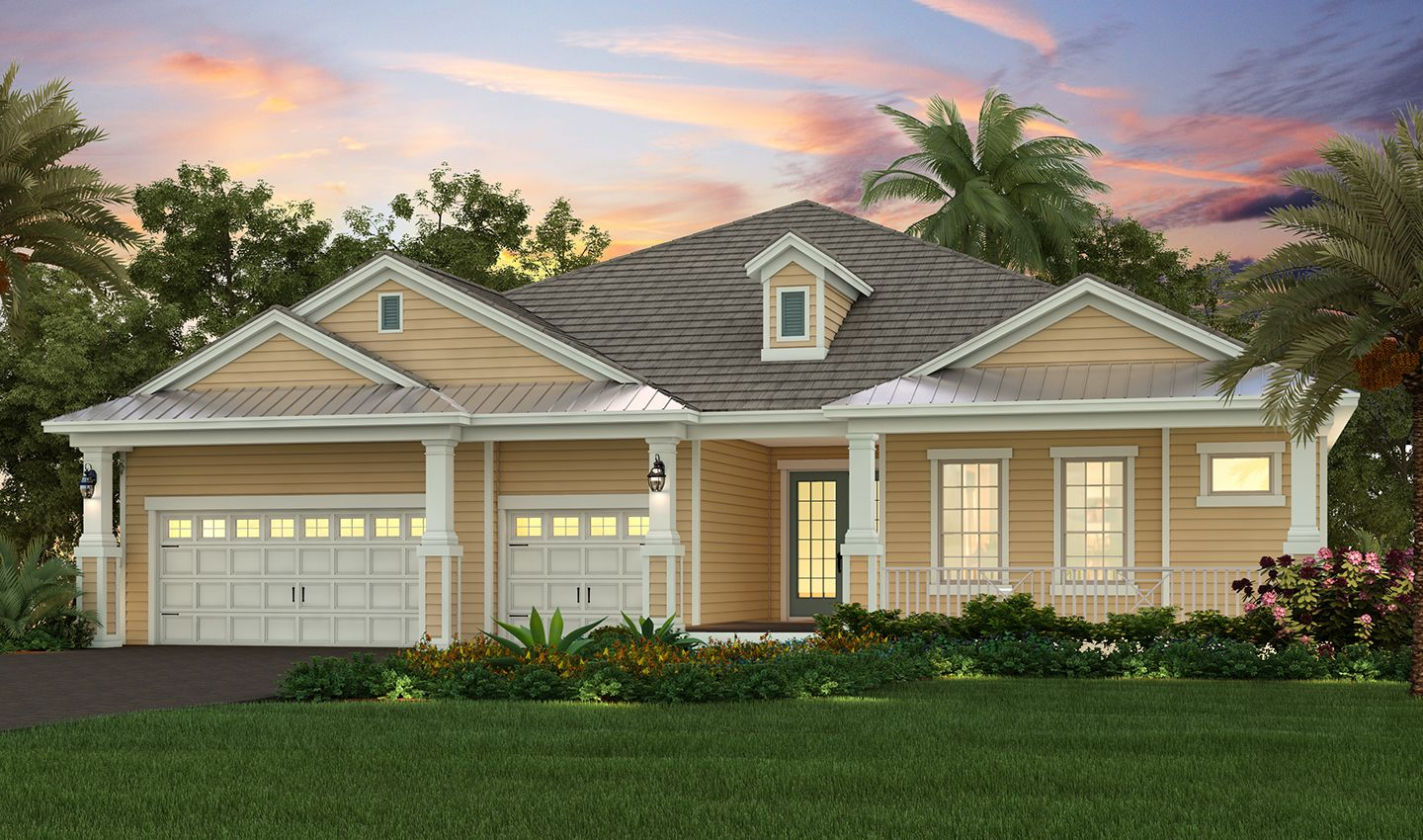 Single Family for Sale at Mirabay - Palm Beach 713 Manns Harbor Drive Apollo Beach, Florida 33572 United States