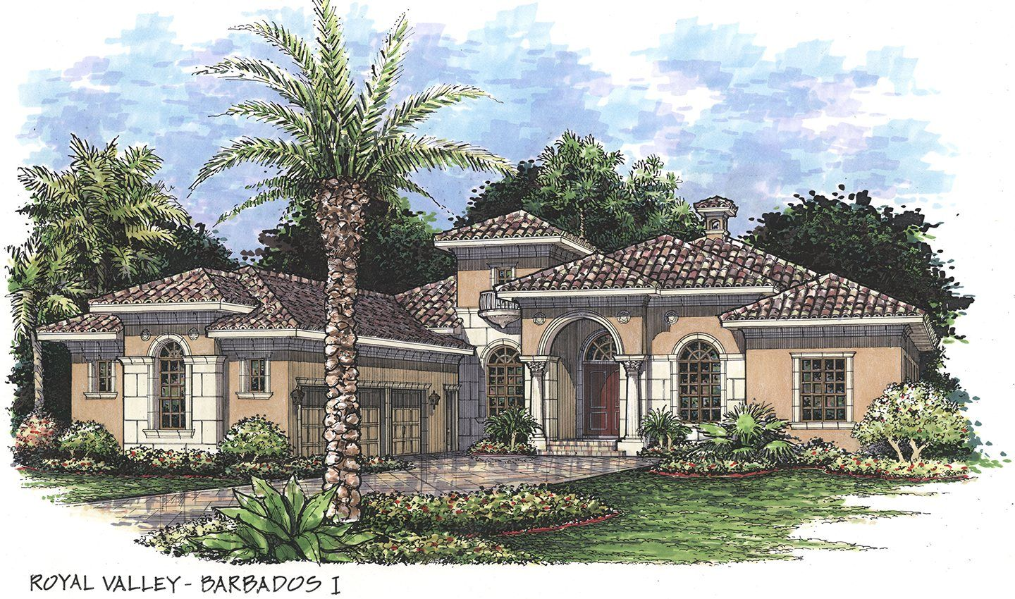 Single Family for Active at Country Club West - Highfield - Barbados I Neal Signature Homes At Country Club East Lakewood Ranch, Florida 34202 United States