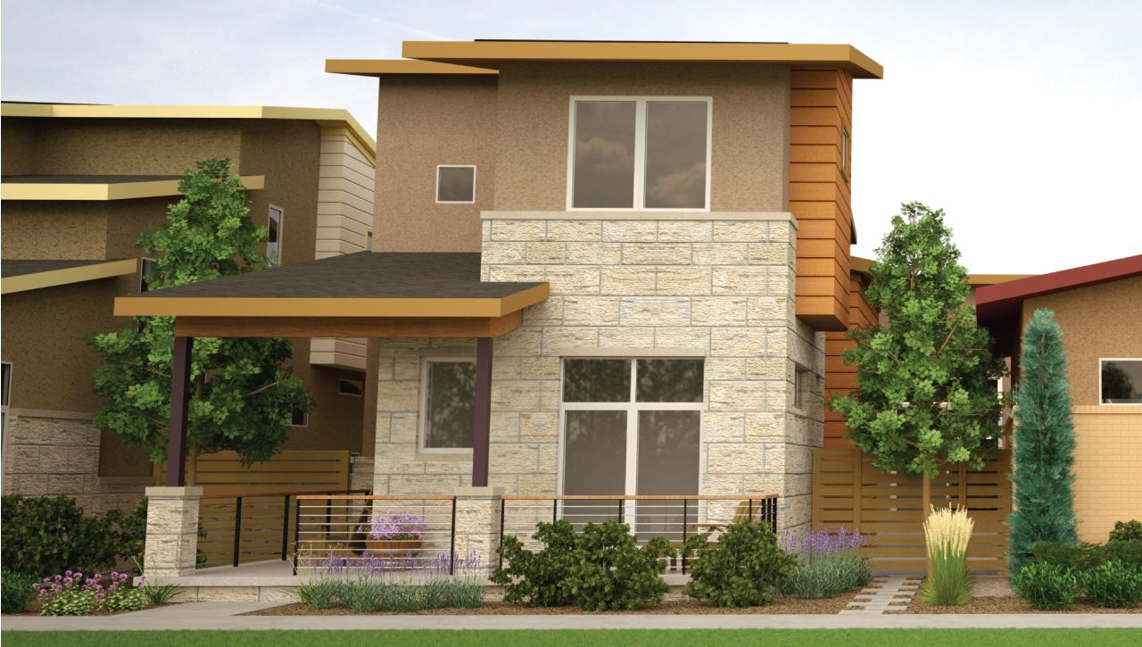Thrive home builders boulevard one at lowry revel for Thrive homes denver