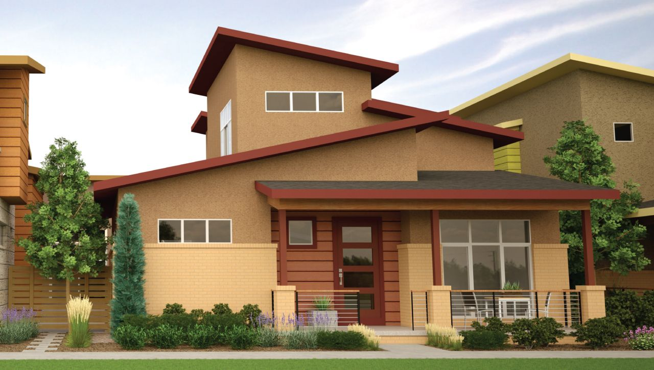 Boulevard one at lowry new homes in denver co by thrive for Thrive homes denver