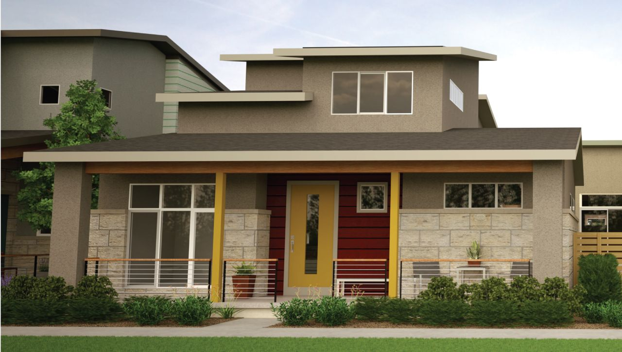 Thrive home builders boulevard one at lowry verve for Thrive homes denver