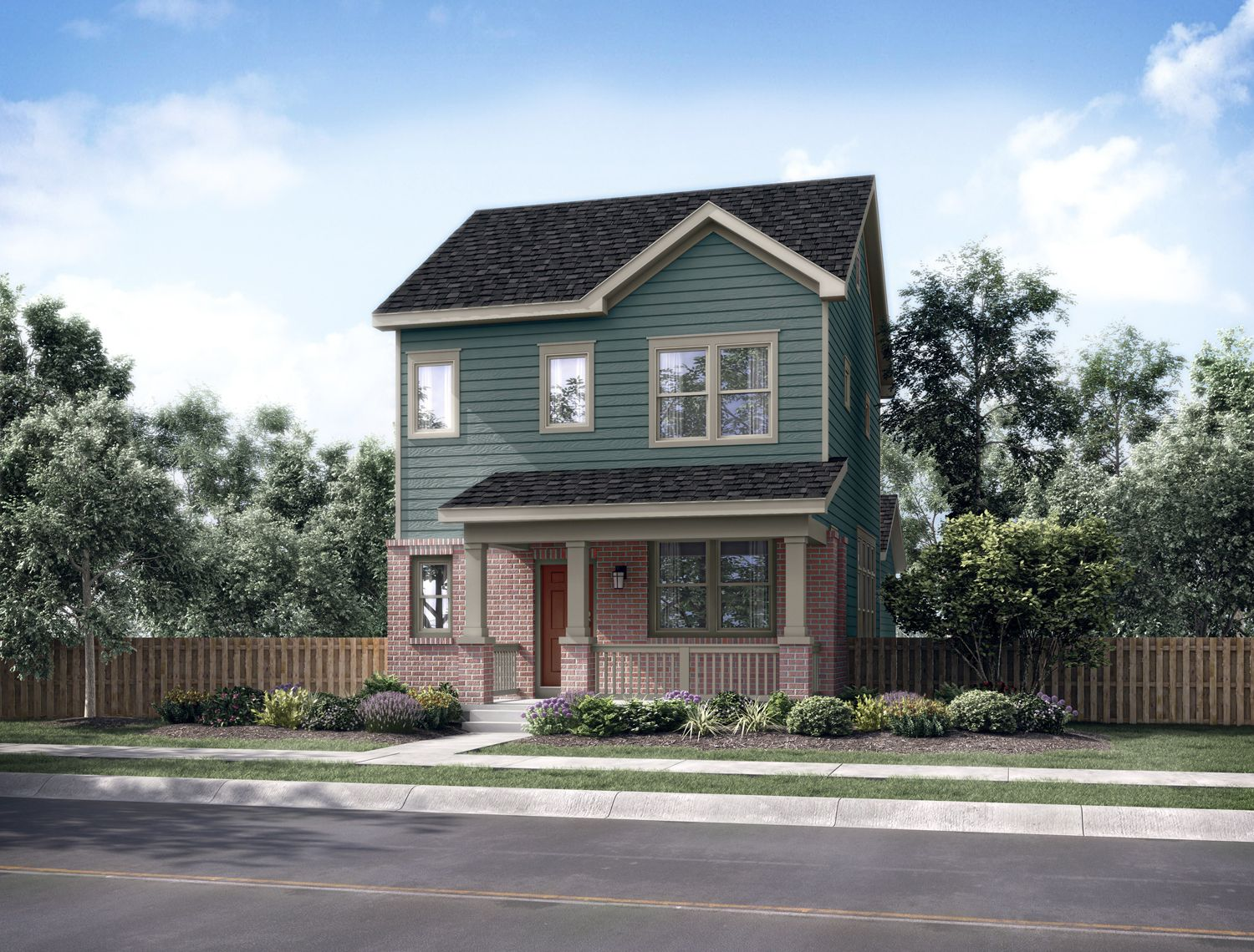 Solaris iii new homes in aurora co by thrive home builders for Thrive homes denver