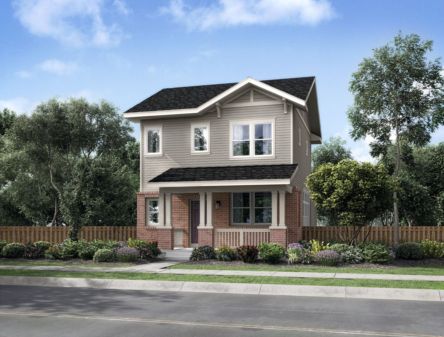 Solaris iii new homes in aurora co by thrive home builders for House aurora