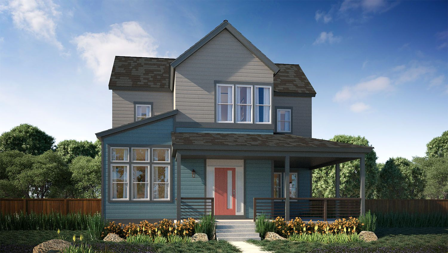 Thrive home builders stapleton vita collection at for Thrive homes denver