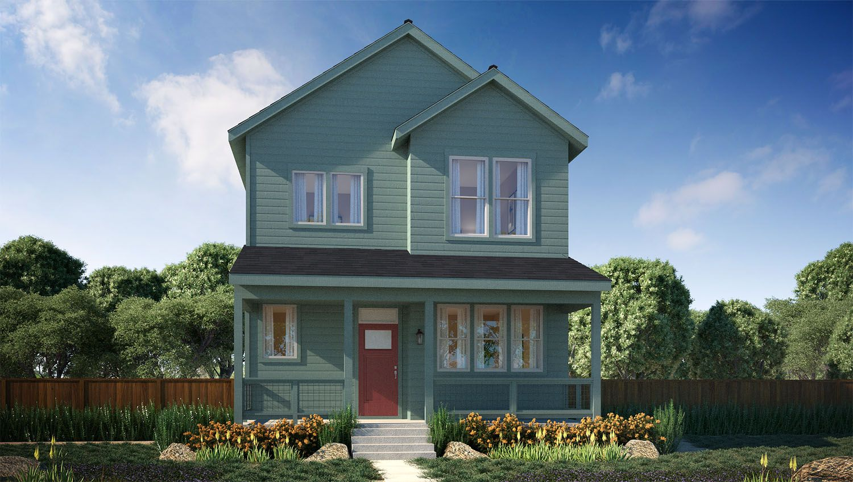 Vita collection at stapleton new homes in denver co by for Thrive homes denver
