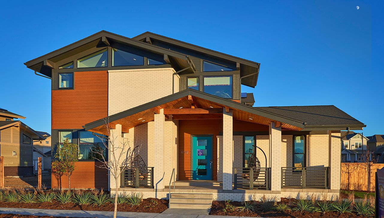 Single Family for Active at Panacea - Retreat 6102 Akron Street Denver, Colorado 80238 United States
