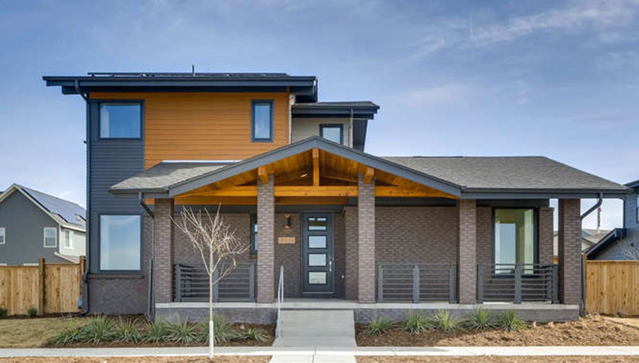 Single Family for Active at Panacea - Sanctuary 6102 Akron Street Denver, Colorado 80238 United States
