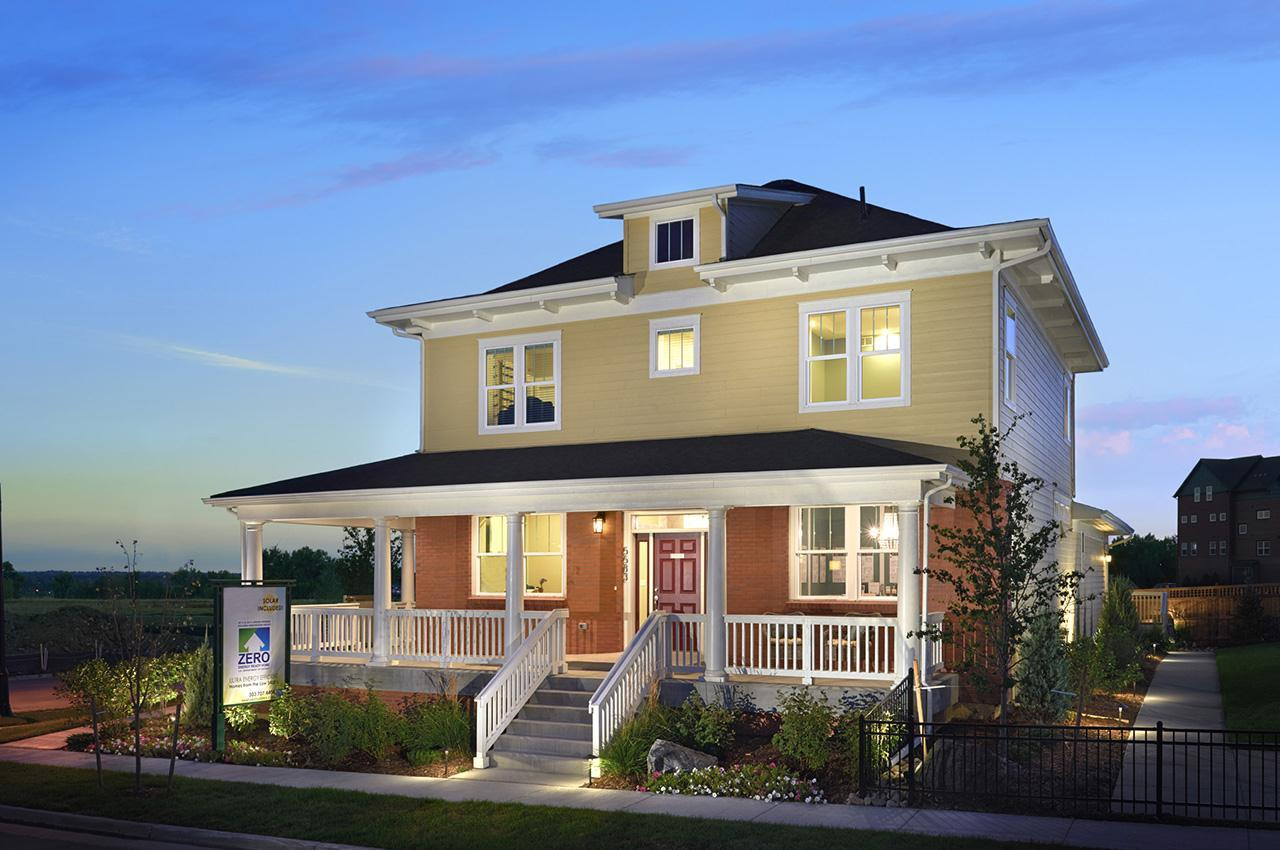 Single Family for Active at Hyland Village - Berkeley 5332 W 97th Place Westminster, Colorado 80020 United States
