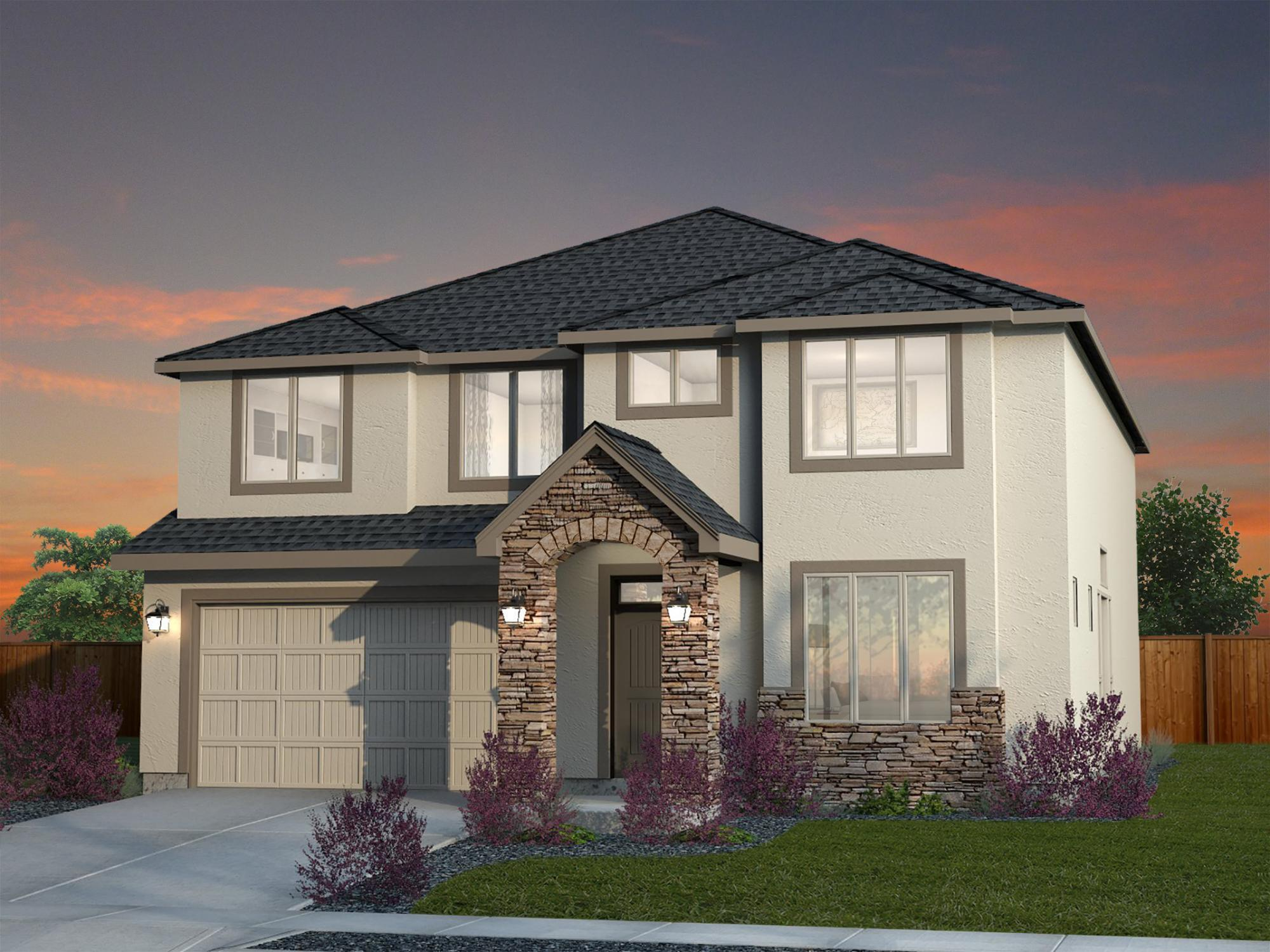 Single Family for Sale at Columbia Terrace - Olympia 9911 Silverbright Drive Pasco, Washington 99301 United States